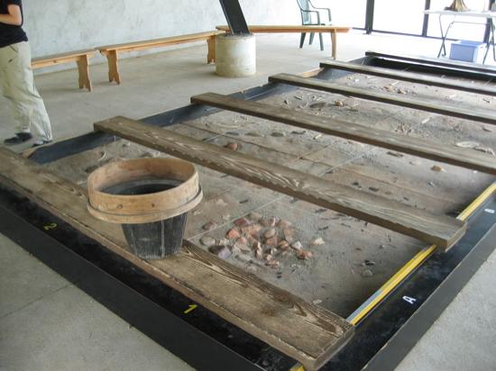 archaeology demonstration
