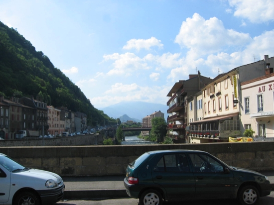 Entering Foix