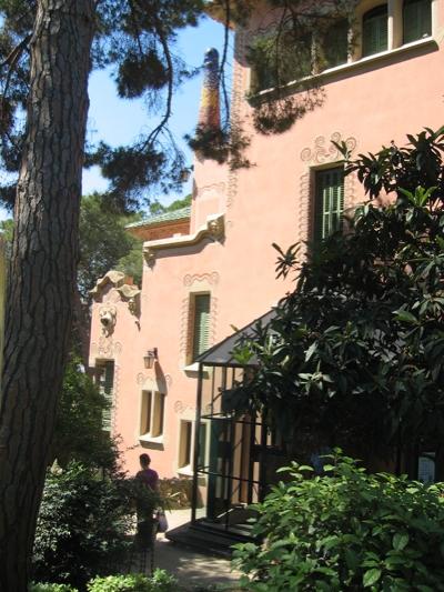Gaudi House Exterior