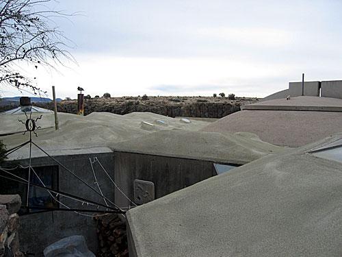 Rooftops at Arcosanti