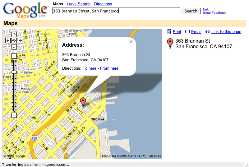 how to add an address on google maps