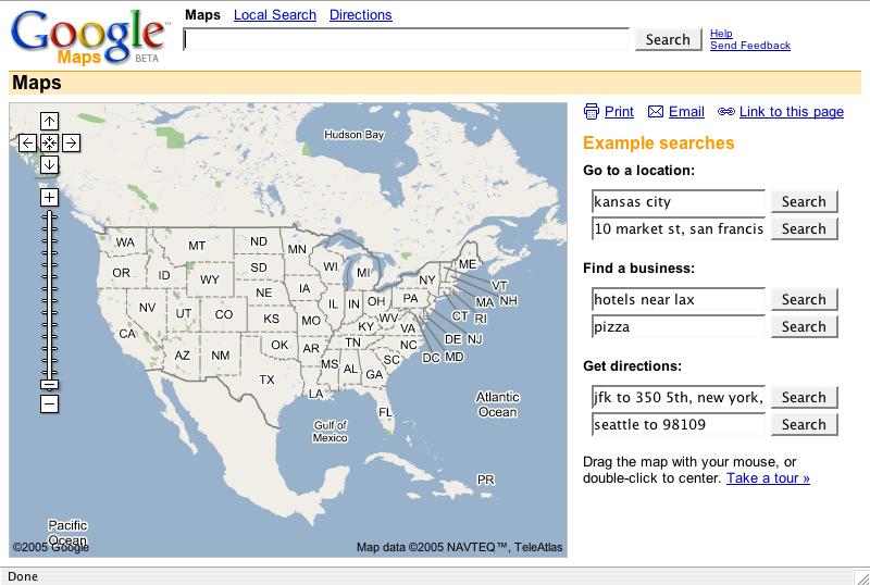 peterme.com: Google Maps UI - Some thoughts on
