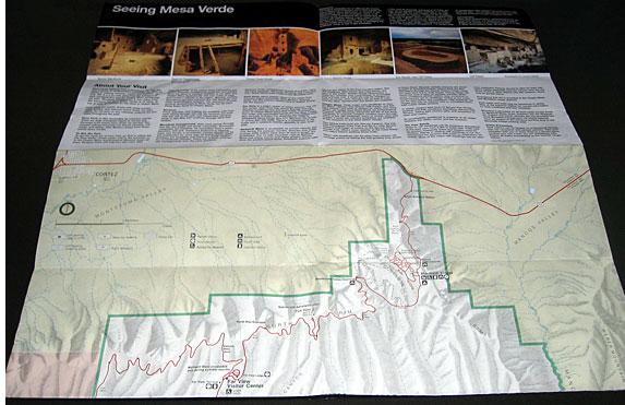 Mesa Verde Brochure, back