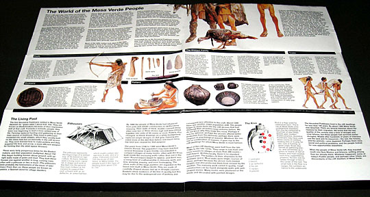 Mesa Verde Brochure, bottom half