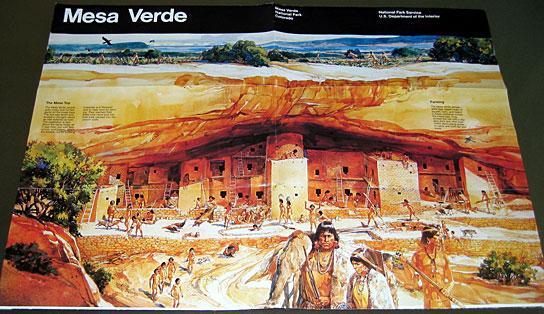 Mesa Verde brochure, top half