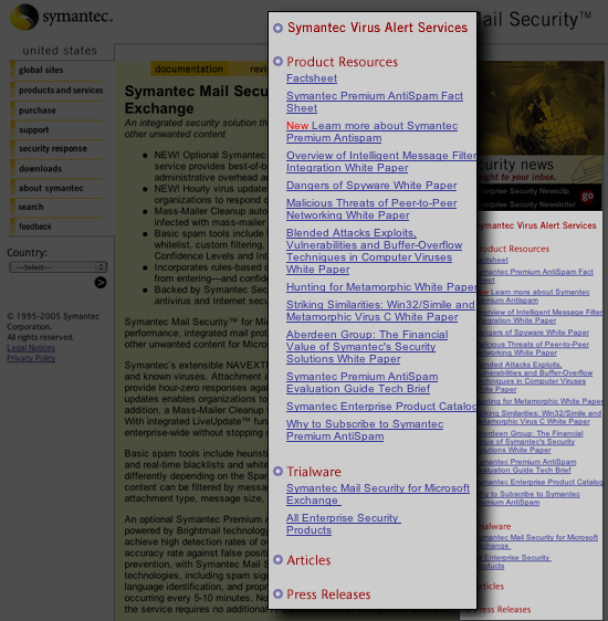 Symantec Genre